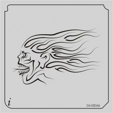 Airbrush & Face Painting Stencil #04-46