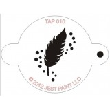 TAP Face Painting Stencils #10 - Feather