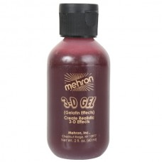 3D Gel Blood Red Squeeze Bottle 60ml