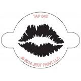TAP Face Painting Stencils #42 - Lip Print
