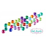 Jest Jewels - 5mm Round Gems - Multicoloured (Approx 180 Pieces)