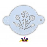 TAP Face Painting Stencils #78 - Candy Party