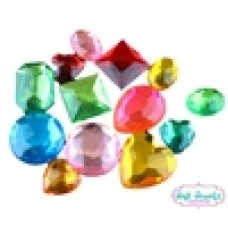 Jest Jewels - Assorted Jumbo Gems (1/2 Cup - Approx 55 pieces)