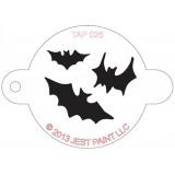 TAP Face Painting Stencils #26 - Bats