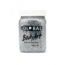 Bodyart Glitter Paint - Silver 200ml