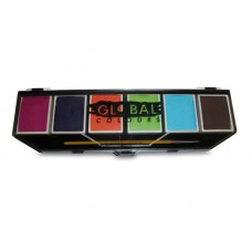 Global BodyArt Pro Palette Caribbean
