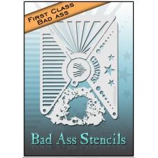 First Class Bad Ass Stencil 2001 Circus