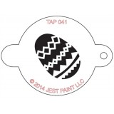 TAP Face Painting Stencils #41 - Easter Egg