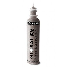 Global FX Holographic Silver Glitter Paint