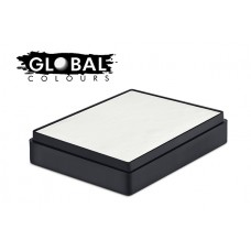 Global Colours White Rectangular 100g