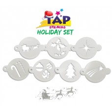 TAP Holiday Set of 7 Stencils