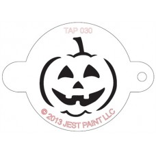 TAP Face Painting Stencils #30 - Jack O'Lantern
