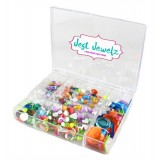 Jest Jewels - Assorted Case of Gems (Approx 300 pieces)