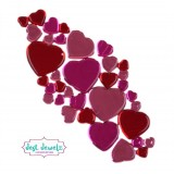 Jest Jewelz - Assorted Heart Gems (Approx. 78 Pieces)