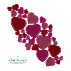 Jest Jewelz - Assorted Heart Gems (Approx. 78 Pieces)