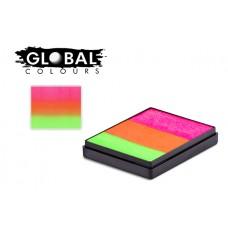 Global Maldives 50g Rainbow Cake