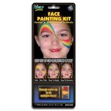 Wolfe FX Mini Face Painting Kit - Rainbow