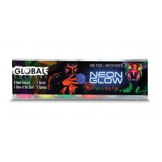 Global Colours BodyArt Neon Glow Set