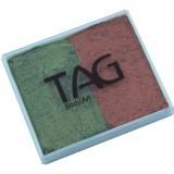 TAG Pearl Copper & Pearl Bronze Green Split Cake 50g