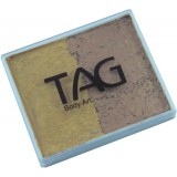 TAG Pearl Gold & Pearl Old Gold Split Cake 50g