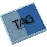 TAG Pearl Blue & Pearl Silver Split Cake 50g