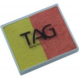 TAG Pearl Orange & Pearl Yellow Split Cake 50g