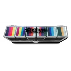 Global Colours Rainbow Splash Funstroke Palette