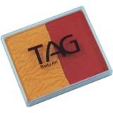 TAG Golden Orange & Red Split Cake 50g