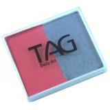 TAG Soft Grey & Rose Pink Split Cake 50g