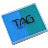 TAG Teal & Light Blue Split Cake 50g