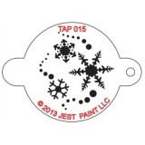 TAP Face Painting Stencils #15 - Snowflakes