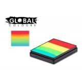 Global Vegas 50g Rainbow Cake