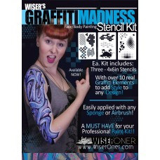 Graffiti Madness Stencil Kit