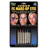 Wolfe FX Jumbo Face Paint Crayons - Pearl/Metallic