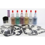 Christmas Glitter Tattoo Party Kit
